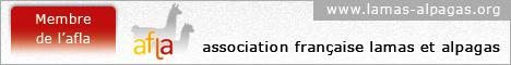 Membre de l'Association Française Lamas et Alpagas